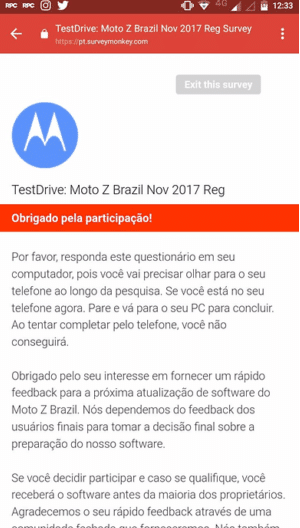 Android O Moto Z