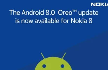 Nokia 8 Is Already Receiving The Android Oreo Update !