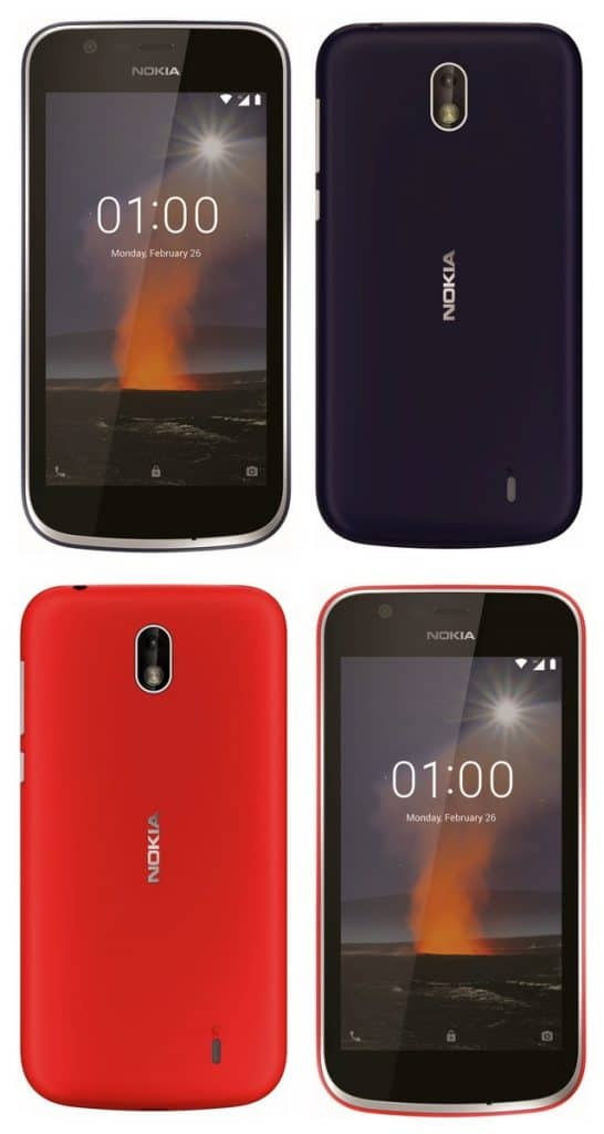 The Android Go Powered Nokia 1 May Also Debut Alongside The Flagships In MWC 2018