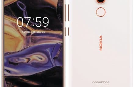 Nokia 7+ (Nokia 7 Plus) Leaked With Android One