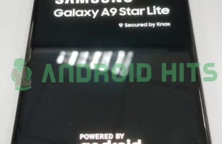 Samsung Galaxy A9 Star Lite Exposed With Android Oreo