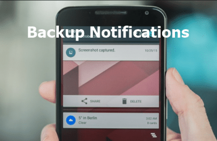 How To Backup Of Notifications In Android – Save Android Notifications