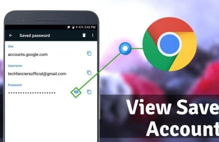 How to View Saved Passwords in Chrome Android