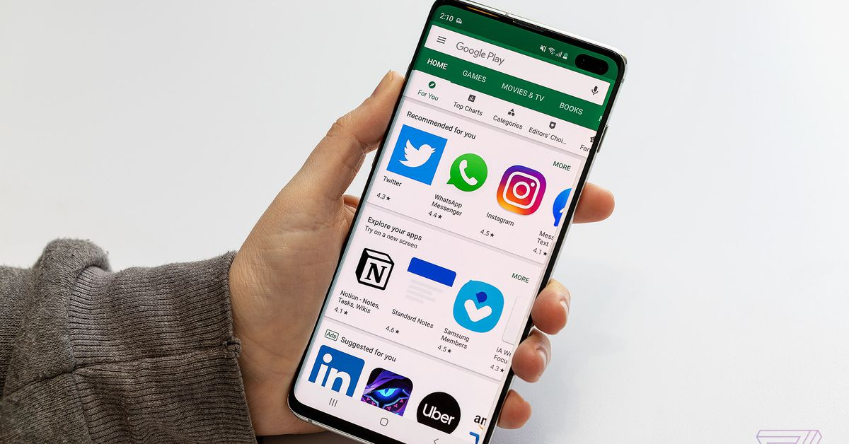 Delist Old Android Devices From Play Store