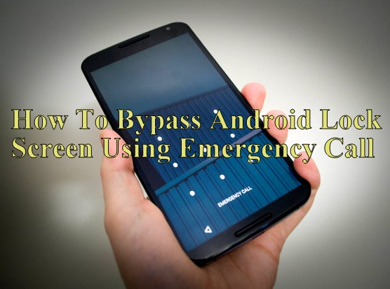Bypass Android Lock Screen Using Camera
