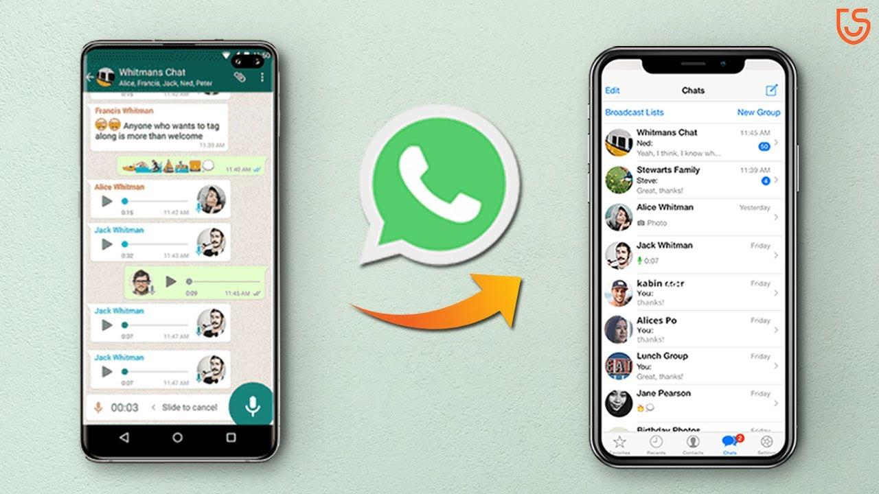 Transferring WhatsApp Chat